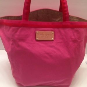 KATE SPADE foldable beach or shopping tote